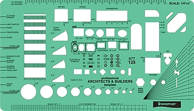 Staedtler® Mars® Architect Template