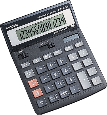 Canon WS-1400H 14-Digit Display Calculator (4087A005AA)