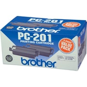 Brother Genuine PC201 Original Thermal Fax Cartridge Multi-pack (2 cart per pack)