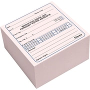 "Blueline® Telephone Message Cube, 4"" x 4"", 512 Messages, Bilingual"