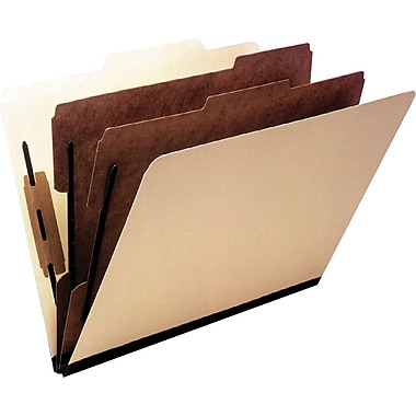Oxford® Economy Manila Classification Folders, Letter