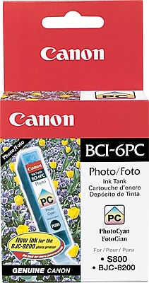 Canon BCI-6PC Photo Cyan Ink Cartridge (4709A003)