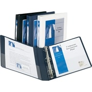 "1/2""  Avery® Frame View Binders with Slant-D Rings"