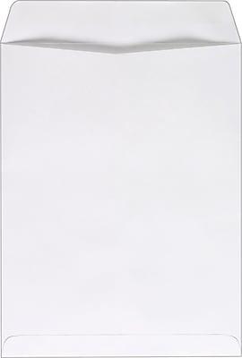 Staples® Gummed Flap Catalog Envelopes, 10