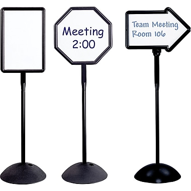 Safco® Write Way® Dry-Erase Signs