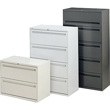 "hon® brigade™ 700 series 42"" wide lateral file cabinets 