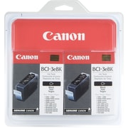 Canon® BCI3TWN (BCI3EBK) Black Inkjet Cartridges Multi-pack (2 cart per pack)