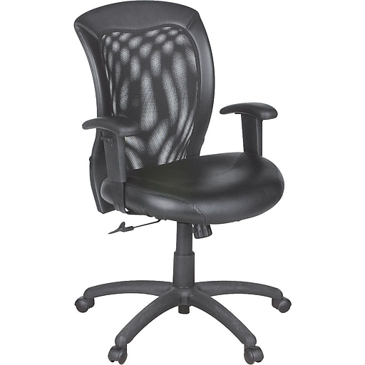 global airflow leather managers office chair adjustable. Black Bedroom Furniture Sets. Home Design Ideas