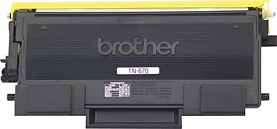 Brother Genuine TN670 Black Original Laser Toner Cartridge
