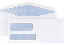 Staples Standard Invoice Double Window Security-Tint Gummed #9 Envelopes, 500/Box