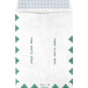 "Staples® EasyClose™ Tyvek® 9-1/2"" x 12-1/2"" First Class Catalog Envelopes, White, 100/Box (17169)"