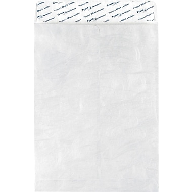 Staples EasyClose Tyvek Catalog Envelopes, 9