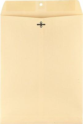 Staples Clasp/Gummed Heavyweight Envelopes, 10