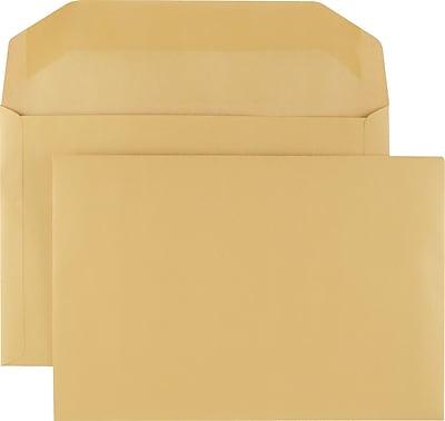 Staples Kraft Extra-Heavyweight Booklet Envelopes, 10
