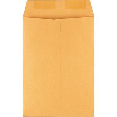 Staples Gummed Flap Kraft Envelope, 7 1/2