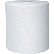 Kleenex® Hardwound Paper Towels, 1-Ply, White, 425 Feet/Roll, 12 Rolls/Carton (01080)