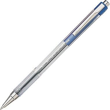 Pilot Better Retractable Ball Point Pens, Fine Point, Blue, 12/Pack (30001)