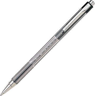 Pilot Better Retractable Ball Point Pens, Medium Point, Black, 12/Pack (30005)