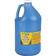 Crayola Washable Kid's Paint, Blue, 1 Gallon (54-2128-042)
