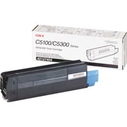 Okidata 42127404 Black Toner Cartridge, High Yield