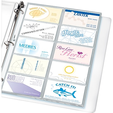Avery R Business Card Pages Pack of 10