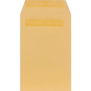 Staples® Self-Sealing Catalog Envelopes, Brown Kraft, 100/Box