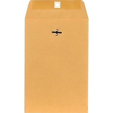Staples Clasp Kraft Catalog Envelopes, 6-1/2