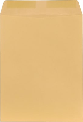 Staples Gummed Catalog Envelopes, 13