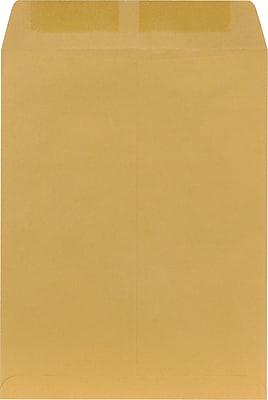 Staples Heavily Gummed Kraft Catalog Envelopes, 10