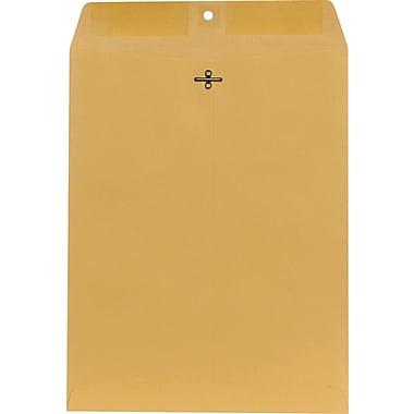 Staples Clasp Kraft Envelopes, 10