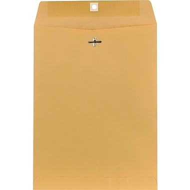 Staples Kraft Clasp Envelopes, 9-1/2