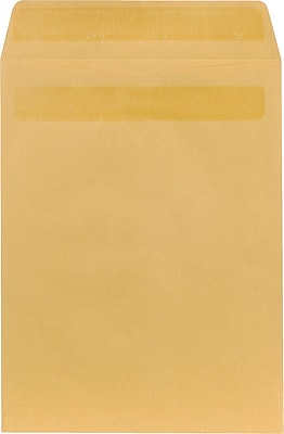 Staples® Self-Sealing Kraft Catalog Envelopes, 9-1/2