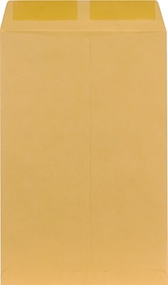 Staples Brown Kraft Catalog Envelopes, 10