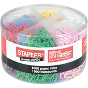 Staples® Vinyl Coated Paper Clips