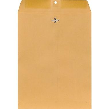 Staples Clasp Closure Kraft Envelopes, 10