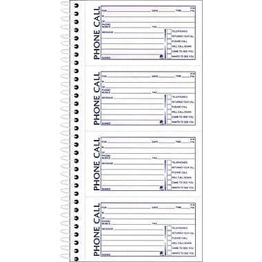 Adams® Phone Message Book | Staples®