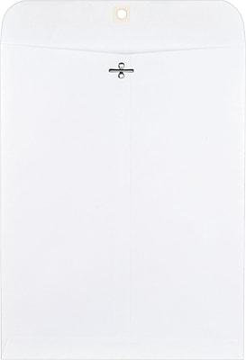 Staples Clasp Wove Envelopes, 10