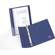 "1"" Avery® See-Thru™ Binders with Round Rings, Blue"