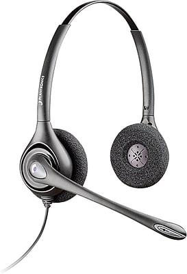 Plantronics® SupraPlus™ Series Headsets, HW261N, Binaural with Noise-Canceling Microphone