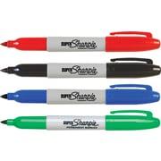 Sharpie® Super Permanent Marker, Fine point, Assorted Colors, 4/pk (33074)