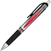uni-ball® Impact™ Gel Retractable Pens, 1.0mm, Bold Point, Red, Dozen (65872)
