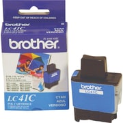 Brother Ink Cartridge, LC41 (LC-41C), Cyan