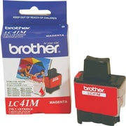 Brother Ink Cartridge, LC41 (LC-41M), Magenta