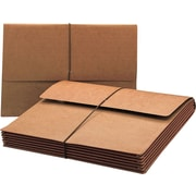 """Smead® Extra Wide Expanding Wallets, Letter, 5 1/4"""" Expansion, 10/Box"""