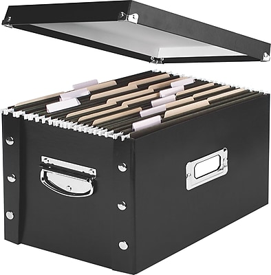 Snap-N-Store® Collapsible Storage Box, Letter/Legal