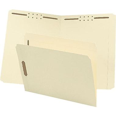 Staples® Reinforced Fastener Folder, Single Tab, 3/4