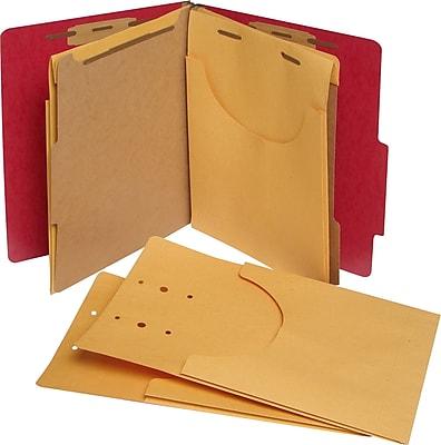 Pendaflex® Kraft Retention Jackets, Letter/Legal, 1-1/4