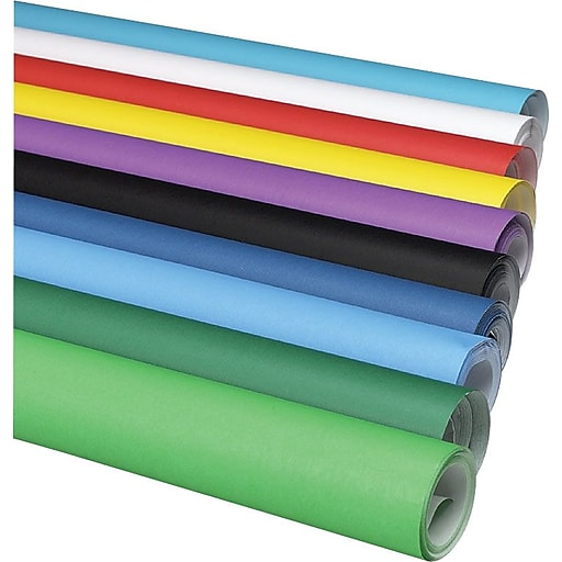 "Pacon Fadeless Art Paper Roll, 50-lb., Bright Blue, 48"" x 50'"