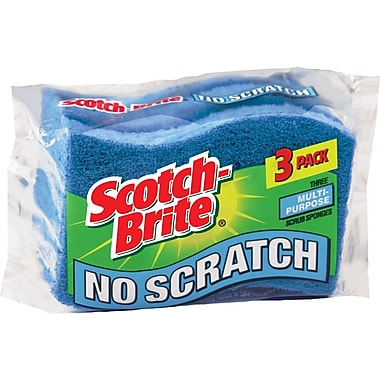 Scotch-Brite Scrub Sponges, 3/Pack