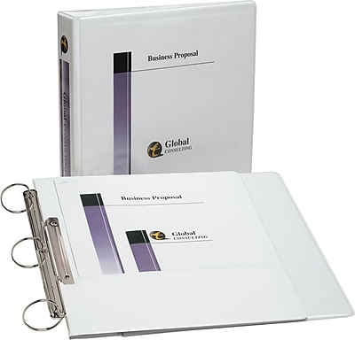 Avery Flip Back Binder with 1-1/2